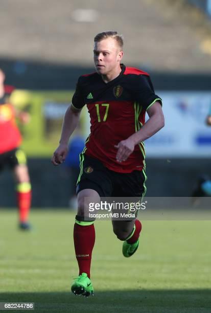 20170323 Beveren Belgium / Uefa U19 Euro 2017 Qualifying Round Sweden vs Belgium / Lennerd DANEELS / Football Under 19 Red Devils / Rode Duivels /...