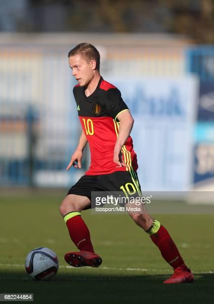 20170323 Beveren Belgium / Uefa U19 Euro 2017 Qualifying Round Sweden vs Belgium / Dante RIGO / Football Under 19 Red Devils / Rode Duivels / Diables...