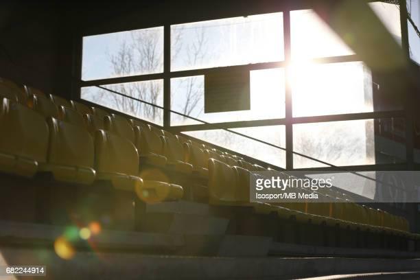 20170323 Beveren Belgium / Uefa U19 Euro 2017 Qualifying Round Sweden vs Belgium / empty football seats / Football Under 19 Red Devils / Rode Duivels...