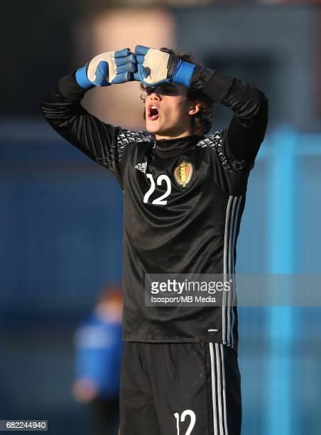 20170323 Beveren Belgium / Uefa U19 Euro 2017 Qualifying Round Sweden vs Belgium / 'nMile SVILAR 'nFootball Under 19 Red Devils / Rode Duivels /...