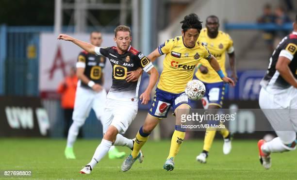 20170805 Beveren Belgium / Waasland Beveren v Kv Mechelen / 'nMats RITS Ryota MORIOKA'nFootball Jupiler Pro League 2017 2018 Matchday 2 / 'nPicture...