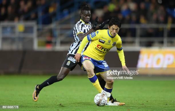 20171125 Beveren Belgium / WaaslandBeveren v Sporting Charleroi / 'nMamadou FALL Ryota MORIOKA'nFootball Jupiler Pro League 2017 2018 Matchday 16 /...