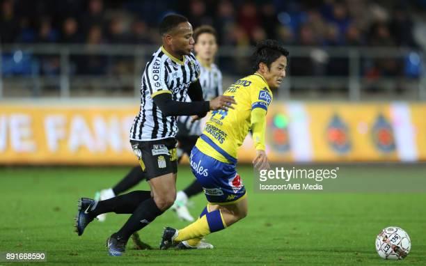 20171125 Beveren Belgium / WaaslandBeveren v Sporting Charleroi / 'nMarco ILAIMAHARITRA Ryota MORIOKA'nFootball Jupiler Pro League 2017 2018 Matchday...