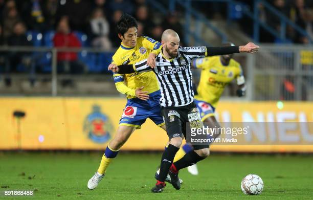 20171125 Beveren Belgium / WaaslandBeveren v Sporting Charleroi / 'nRyota MORIOKA Dorian DESSOLEIL'nFootball Jupiler Pro League 2017 2018 Matchday 16...