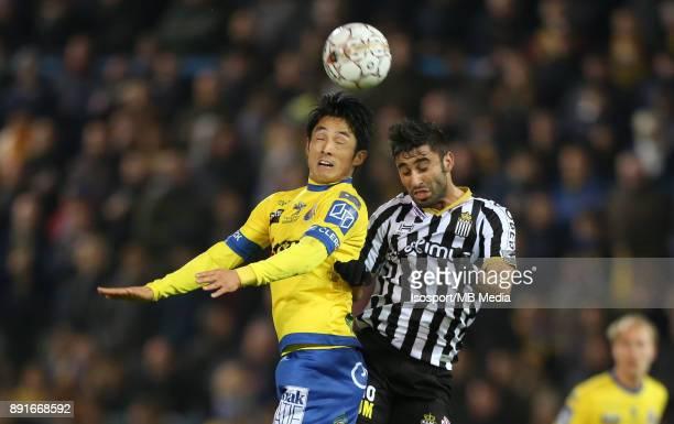 20171125 Beveren Belgium / WaaslandBeveren v Sporting Charleroi / 'nRyota MORIOKA Kaveh REAZAEI'nFootball Jupiler Pro League 2017 2018 Matchday 16 /...