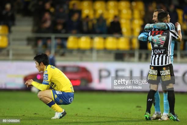 20171125 Beveren Belgium / WaaslandBeveren v Sporting Charleroi / 'nRyota MORIOKA Deception'nFootball Jupiler Pro League 2017 2018 Matchday 16 /...