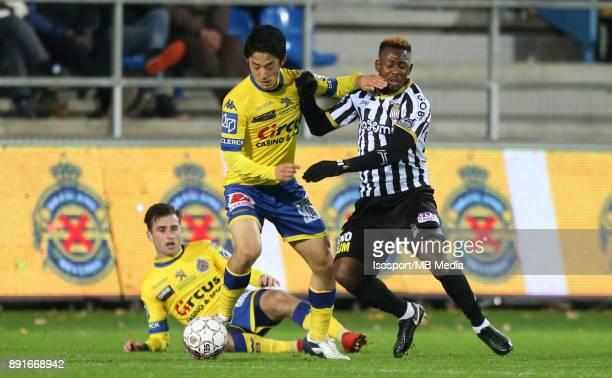 20171125 Beveren Belgium / WaaslandBeveren v Sporting Charleroi / 'nRyota MORIOKA Francis N'GANGA'nFootball Jupiler Pro League 2017 2018 Matchday 16...