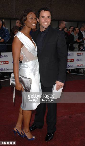 Beverley Knight and guest arrive for the Pride of Britain Awards 2007 The London Studios Upper Ground London SE1