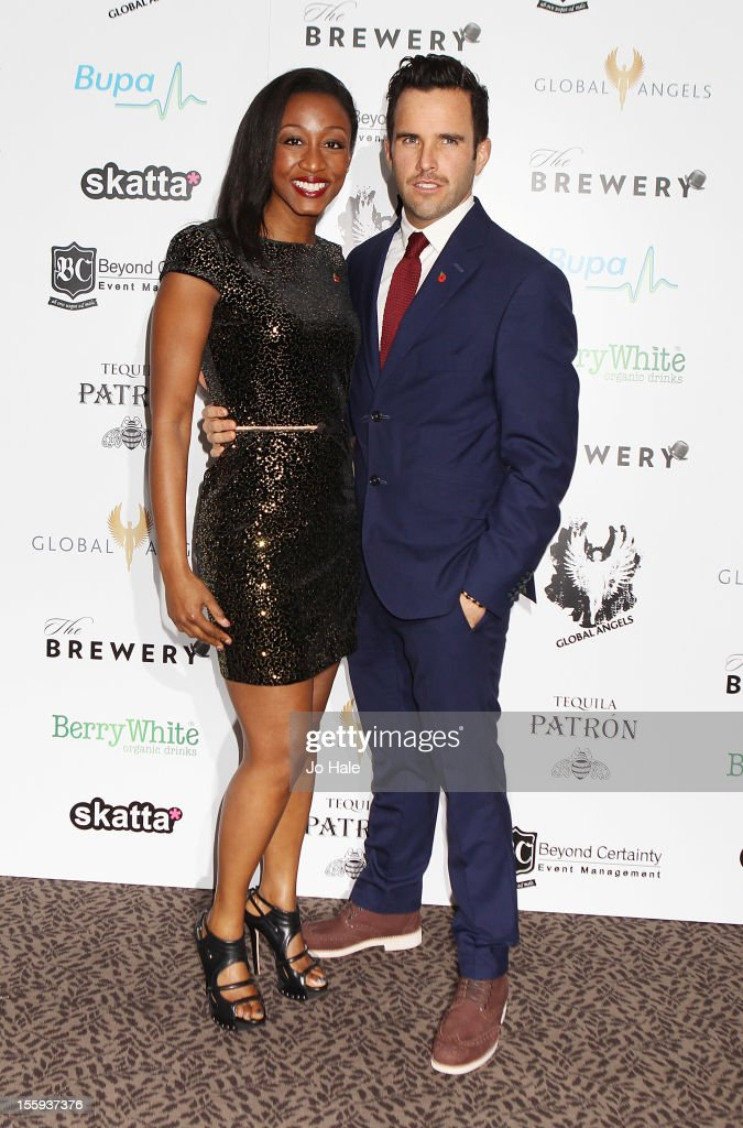 <a gi-track='captionPersonalityLinkClicked' href=/galleries/search?phrase=Beverley+Knight&family=editorial&specificpeople=204569 ng-click='$event.stopPropagation()'>Beverley Knight</a> and James O'Keefe attend The Global Angels Awards at The Brewery on November 9, 2012 in London, England.