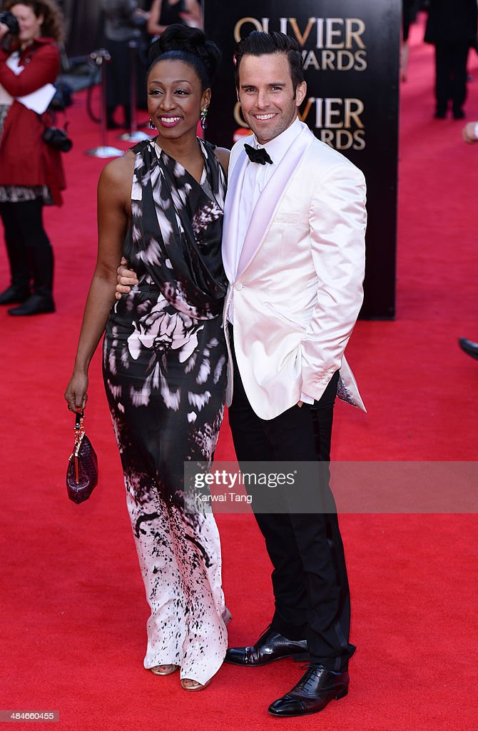 <a gi-track='captionPersonalityLinkClicked' href=/galleries/search?phrase=Beverley+Knight&family=editorial&specificpeople=204569 ng-click='$event.stopPropagation()'>Beverley Knight</a> and James O'Keefe attend the Laurence Olivier Awards held at The Royal Opera House on April 13, 2014 in London, England.
