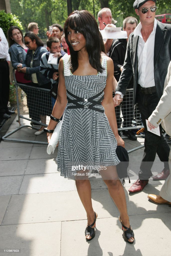 Beverley Knight arrives at the the 53rd Ivor Novello Awards held at the Grosvenor House on May 22 2008 in London England