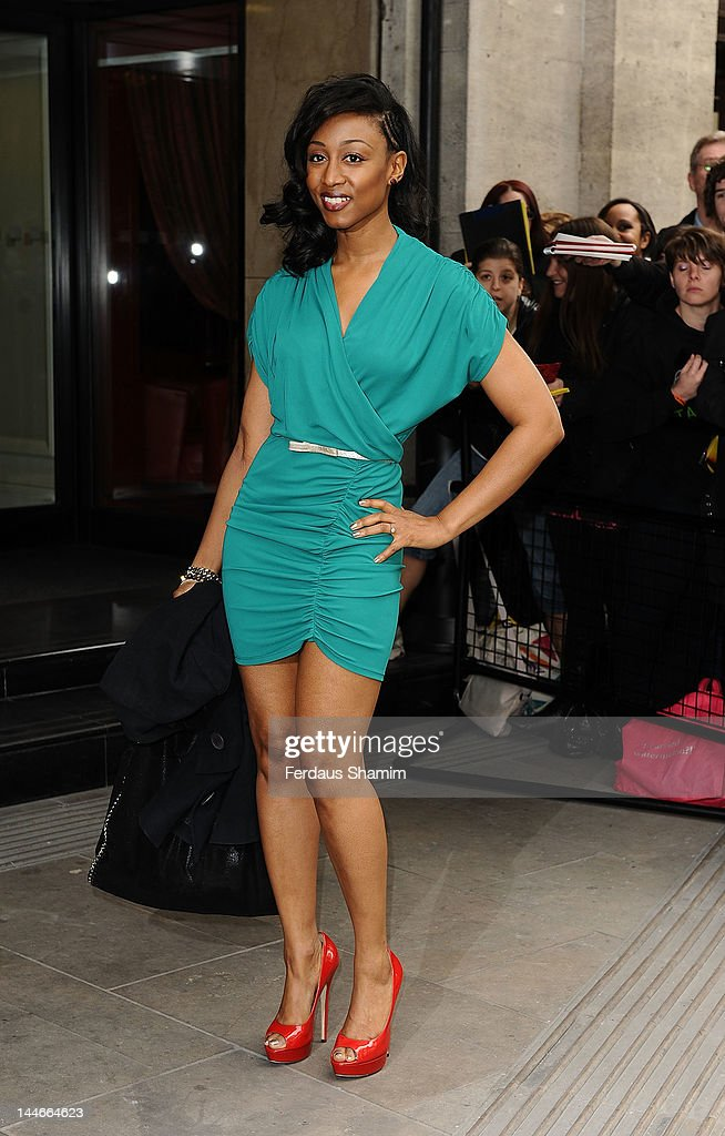 Beverley Knight attends Ivor Novello Awards at Grosvenor House, on May 17, 2012 in London, England.