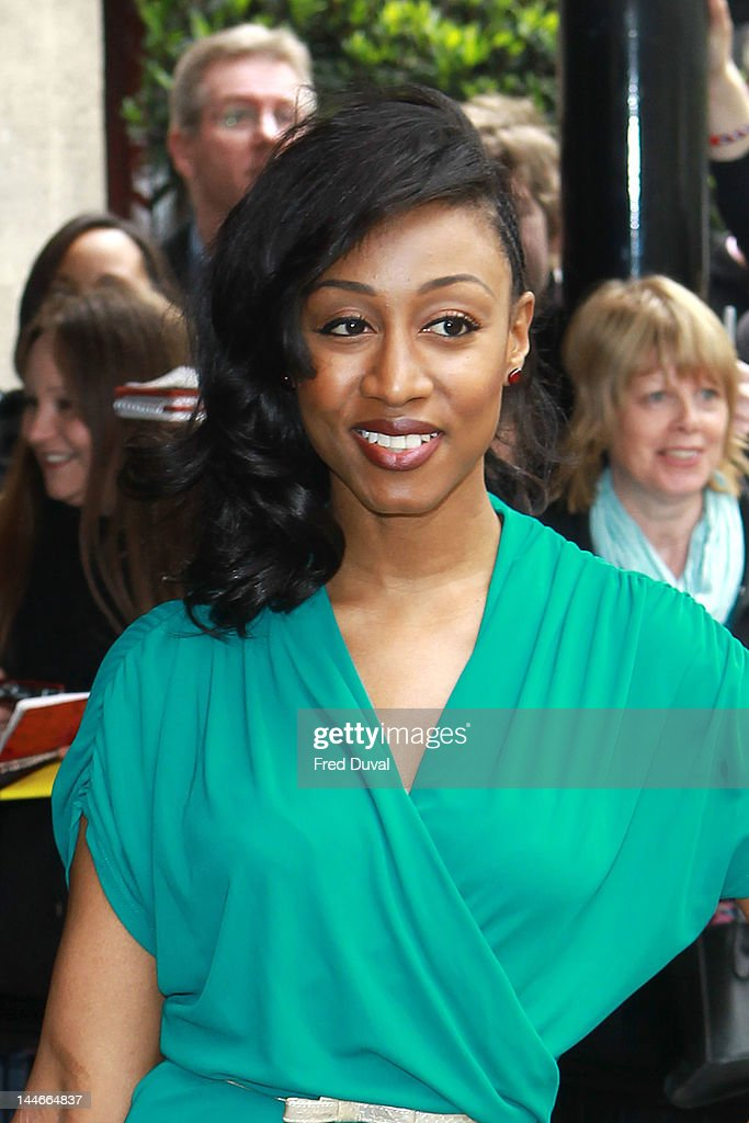 Beverley Knight attends the 2012 Ivor Novello Awards at Grosvenor House, on May 17, 2012 in London, England.