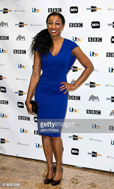 Beverley Knight attends the annual Screen Nation Film Television Awards Hilton London Metropole on March 19 2016 in London England