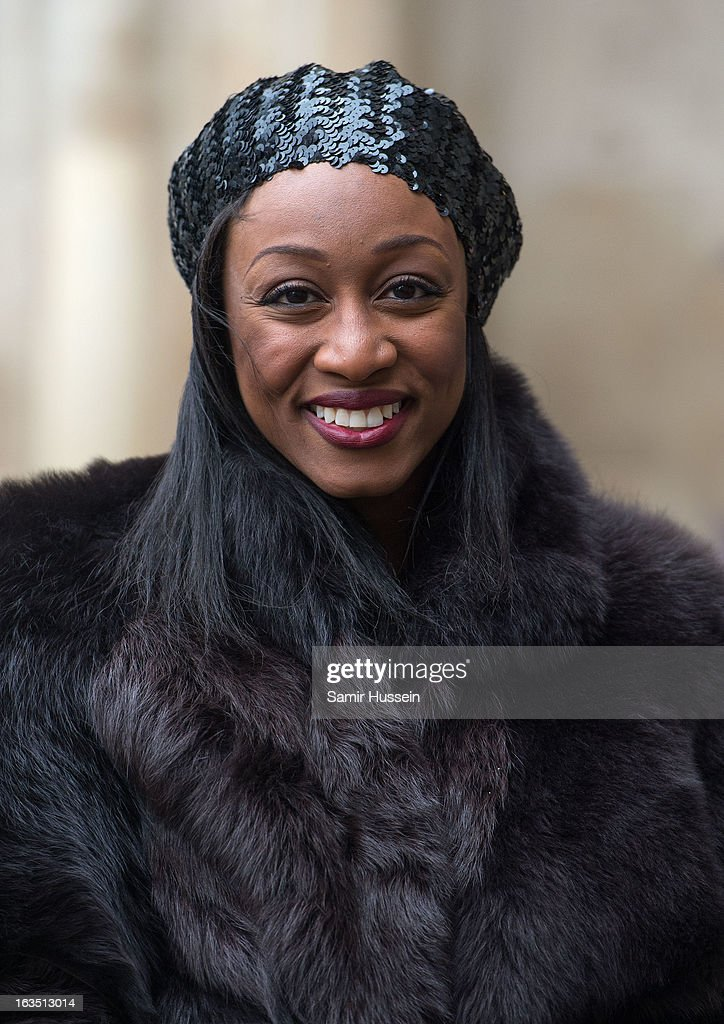 Beverley Knight attends the Commonwealth Day Observance At Westminster Abbey on March 11, 2013 in London, England.