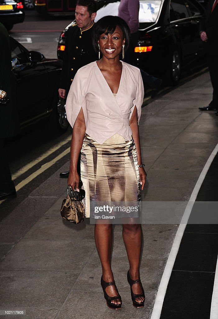 Beverley knight attends the English National Ballet 60th Anniversary party at the Dorchester Hotel on June 15, 2010 in London, England.