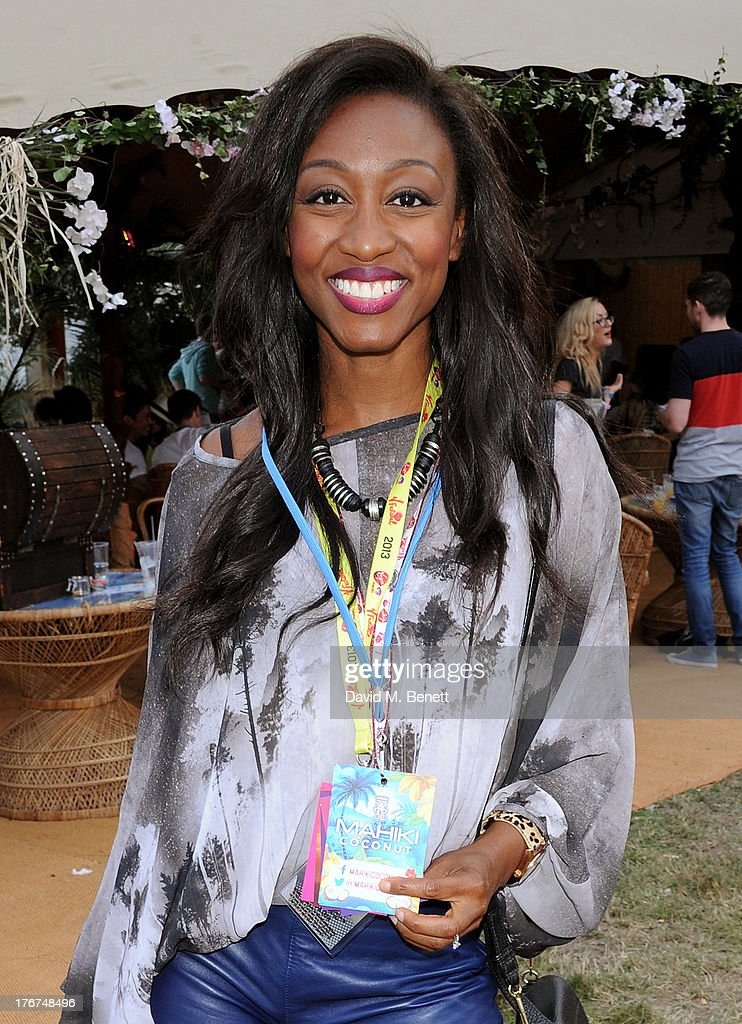 <a gi-track='captionPersonalityLinkClicked' href=/galleries/search?phrase=Beverley+Knight&family=editorial&specificpeople=204569 ng-click='$event.stopPropagation()'>Beverley Knight</a> attends the Mahiki Coconut Backstage Bar during day 2 of V Festival 2013 at Hylands Park on August 18, 2013 in Chelmsford, England.