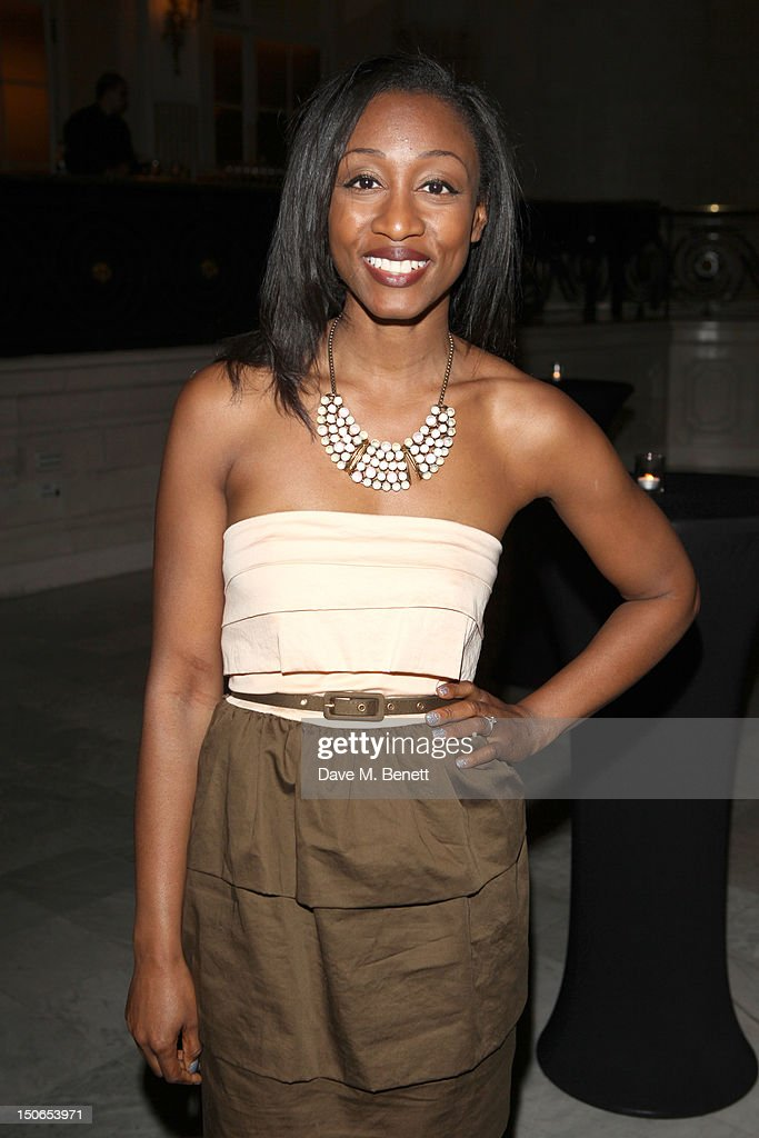 <a gi-track='captionPersonalityLinkClicked' href=/galleries/search?phrase=Beverley+Knight&family=editorial&specificpeople=204569 ng-click='$event.stopPropagation()'>Beverley Knight</a> attends the press night after party for 'Soul Sister,' a musical inspired by the life of Tina Turner and Ike Turner at the Waldorf Hilton Hotel on August 23, 2012 in London, England.