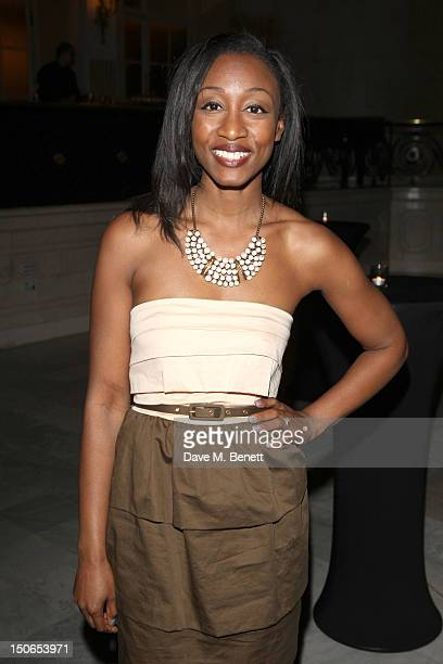 Beverley Knight attends the press night after party for 'Soul Sister' a musical inspired by the life of Tina Turner and Ike Turner at the Waldorf...