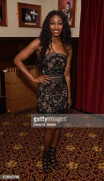 Beverley Knight attends the press night performance of 'The Bodyguard' at The Dominion Theatre on July 21 2016 in London England