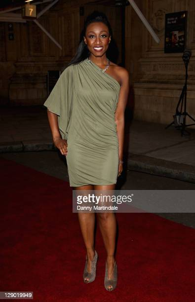 Beverley Knight attends the Spirit Of London Awards at the Royal Albert Hall on October 10 2011 in London England