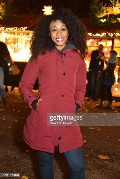 Beverley Knight attends the VIP launch of Hyde Park Winter Wonderland 2017 on November 16 2017 in London England