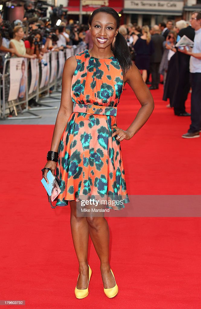 Beverley Knight attends the World Premiere of 'Diana' at Odeon Leicester Square on September 5, 2013 in London, England.