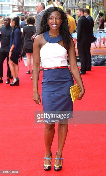 Beverley Knight attends the World Premiere of 'The Inbetweeners 2' at Vue West End on August 5 2014 in London England