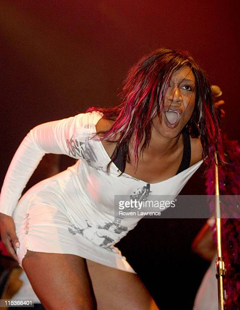 Beverley Knight during 2004 V Festival Stafford Day 1 at Weston Park in Stafford Great Britain