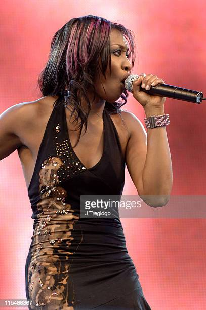 Beverley Knight during 2005 Big Gay Out at Finsbury Park in London Great Britain