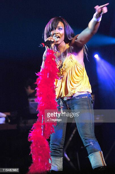 Beverley Knight during Beverley Knight in Concert at London's Carling Hammersmith Apollo April 14 2005 at Carling Hammersmith Apollo in London Great...