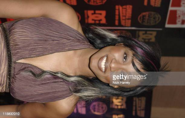 Beverley Knight during 'Gumball 3000 6 Days In May' DVD Premiere and 2005 Rally Launch Party Inside at Victoria House in London Great Britain