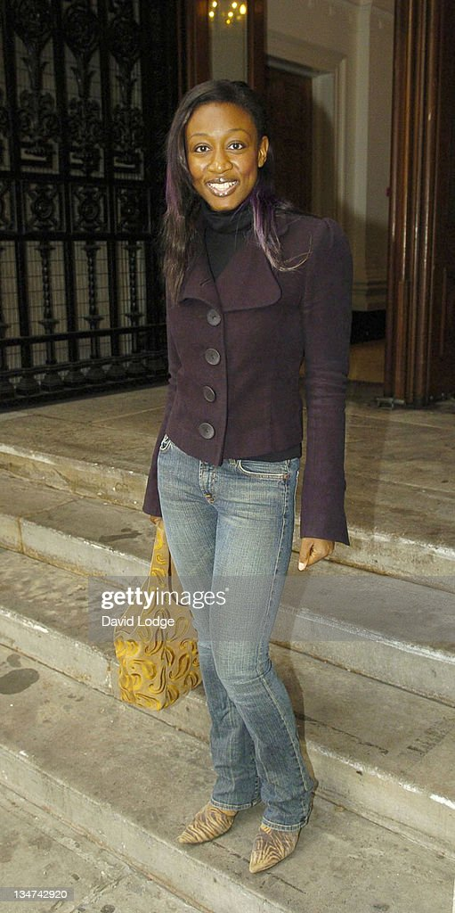 <a gi-track='captionPersonalityLinkClicked' href=/galleries/search?phrase=Beverley+Knight&family=editorial&specificpeople=204569 ng-click='$event.stopPropagation()'>Beverley Knight</a> during London Fashion Week Spring/Summer 2006 - Jasper Conran - Arrivals at Royal Academy of Arts in London, Great Britain.