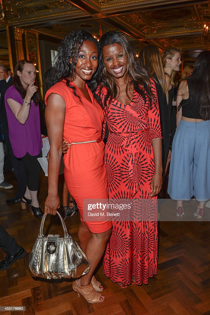 Beverley Knight & June Sarpong attends the VIP charity event, which Drapers and WGSN Group, partnered with Parsons The New School for Design and the British Fashion Council to hold, in aid of the Prince's Trust Million Makers on August 4, 2014 in London, England. The event saw the launch the acclaimed book 'The School of Fashion: 30 Parsons Designers' by Simon Collins, Dean of Fashion at Parsons. The richly-illustrated volume explores the legacy of Parsons through the testimony of its brightest alumni, with interviews and sketches from Donna Karan, Alexander Wang, Jack McCullough and Lazaro Hernandez of Proenza Schouler, and many others.