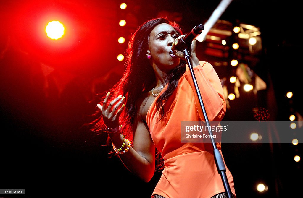 Beverley Knight performs at day 3 of the 2013 Glastonbury Festival at Worthy Farm on June 29, 2013 in Glastonbury, England.