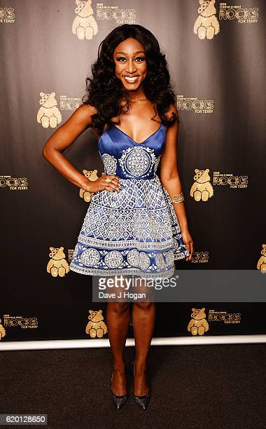 Beverley Knight supports BBC Children in Need Rocks for Terry at Royal Albert Hall on November 1 2016 in London England