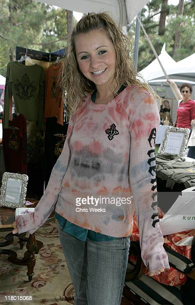 Beverley Mitchell at Eccentric Symphony during Silver Spoon PreEmmy Hollywood Buffet Day 2 in Los Angeles California United States Photo by Chris...