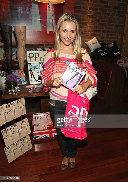 Beverley Mitchell attends The Daily Beauty Bar presented by Softcup at Townhouse Spa on September 12 2011 in New York City