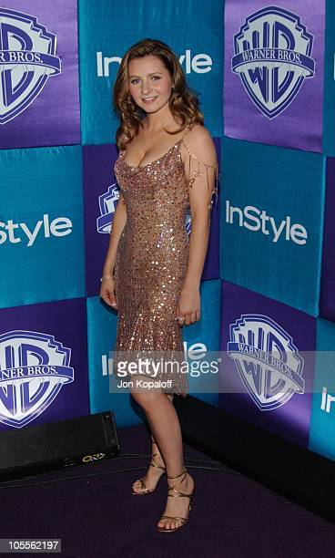 Beverley Mitchell during 2005 InStyle/Warner Bros Golden Globes Afterparty Arrivals at Beverly Hills Hilton in Beverly Hills California United States