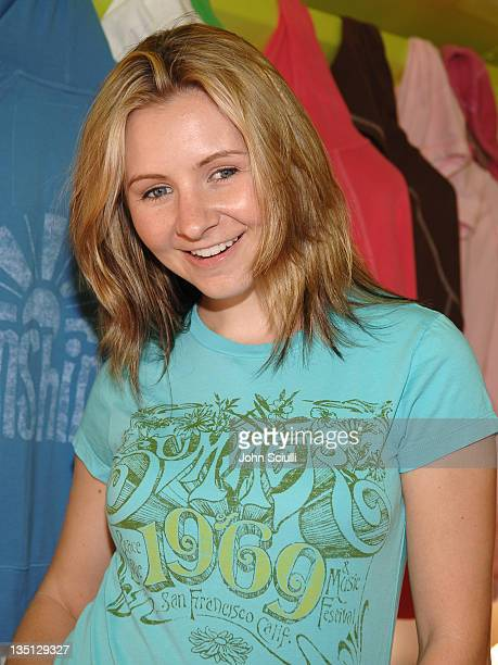 Beverley Mitchell during GAP Rock Color Bus Tour May 11 2006 at The Grove in Los Angeles California United States