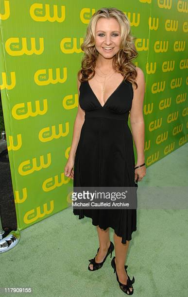 Beverley Mitchell during The CW Launch Party Green Carpet at WB Main Lot in Burbank California United States