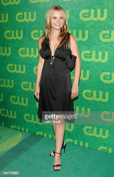 Beverley Mitchell during The CW Summer 2006 TCA Party Arrivals at Ritz Carlton in Pasadena California United States