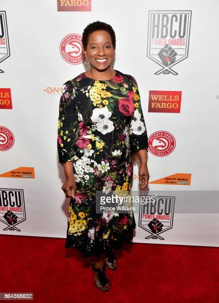 Beverly Anderson attends The HBCU Power Awards at Morehouse College on October 20 2017 in Atlanta Georgia