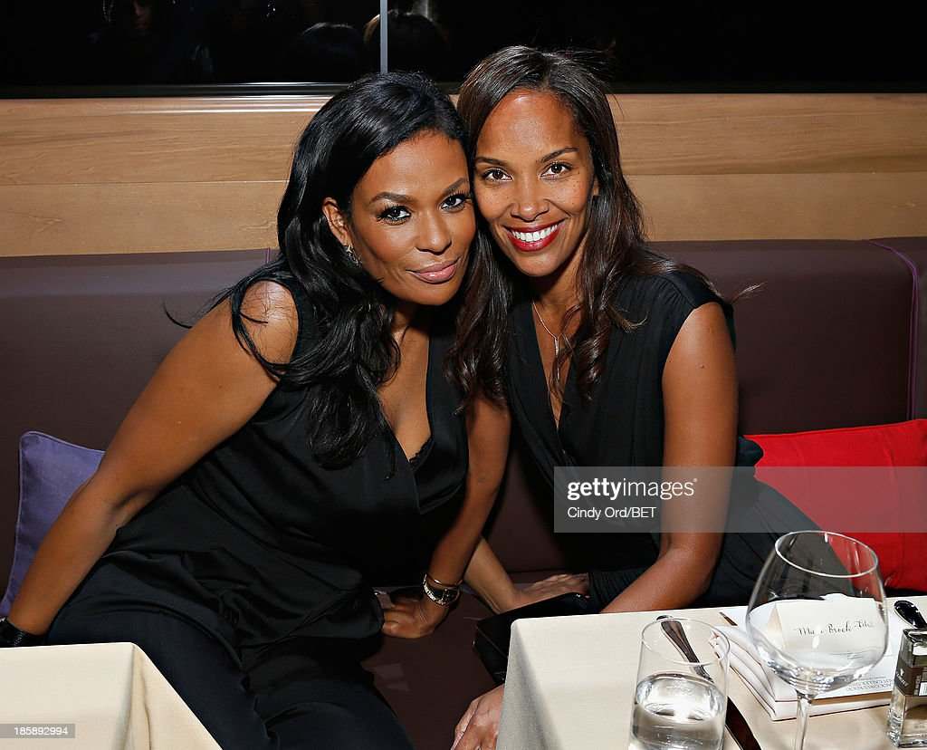 Beverly Bond and Mara Brock Akil attend the 2013 Black Girls Rock Shot Callers Dinner on October 25, 2013 in New York City.