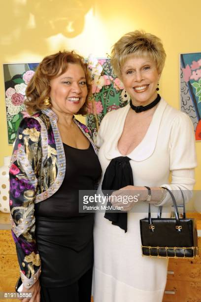 Beverly Durham and Susan Silver attend 'Pisces' Birthday Party of John Demsey Alina Cho and Marilyn Gauthier at Private Residence on March 15 2010 in...