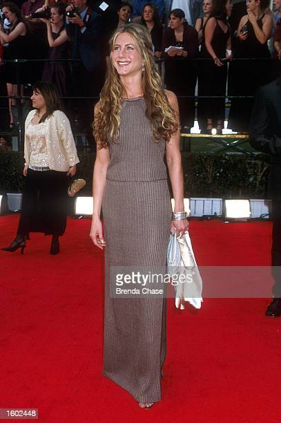3/12/00 Beverly Hills CA Jennifer Aniston atteding the 6th Ann SAG Awards Photo by Brenda Chase Online USA Inc