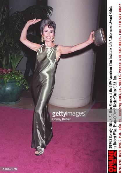 Beverly Hills Ca Rita Moreno At The 1998 American Film Institute Life Achievement Award Salute To Robert Wise
