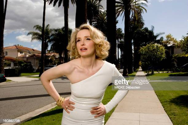 Beverly Hills March 10 2010 Actor Julie Delpy is photographed for Paris Match on March 10 2010 in Beverly Hills Los Angeles