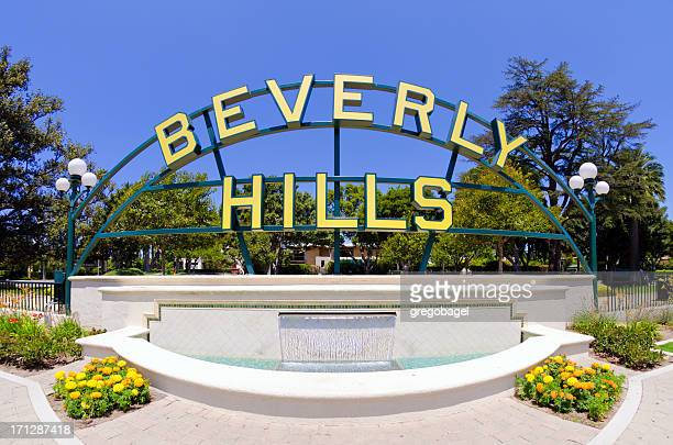 Beverly hills stock photos and pictures getty images for Celebrity home tours beverly hills