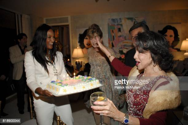 Beverly Johnson and Nikki Haskell attend Mayor Antonio Villaraigosa celebrates Nikki Haskell's Birthday at Sierra Towers on May 17th 2010 in West...